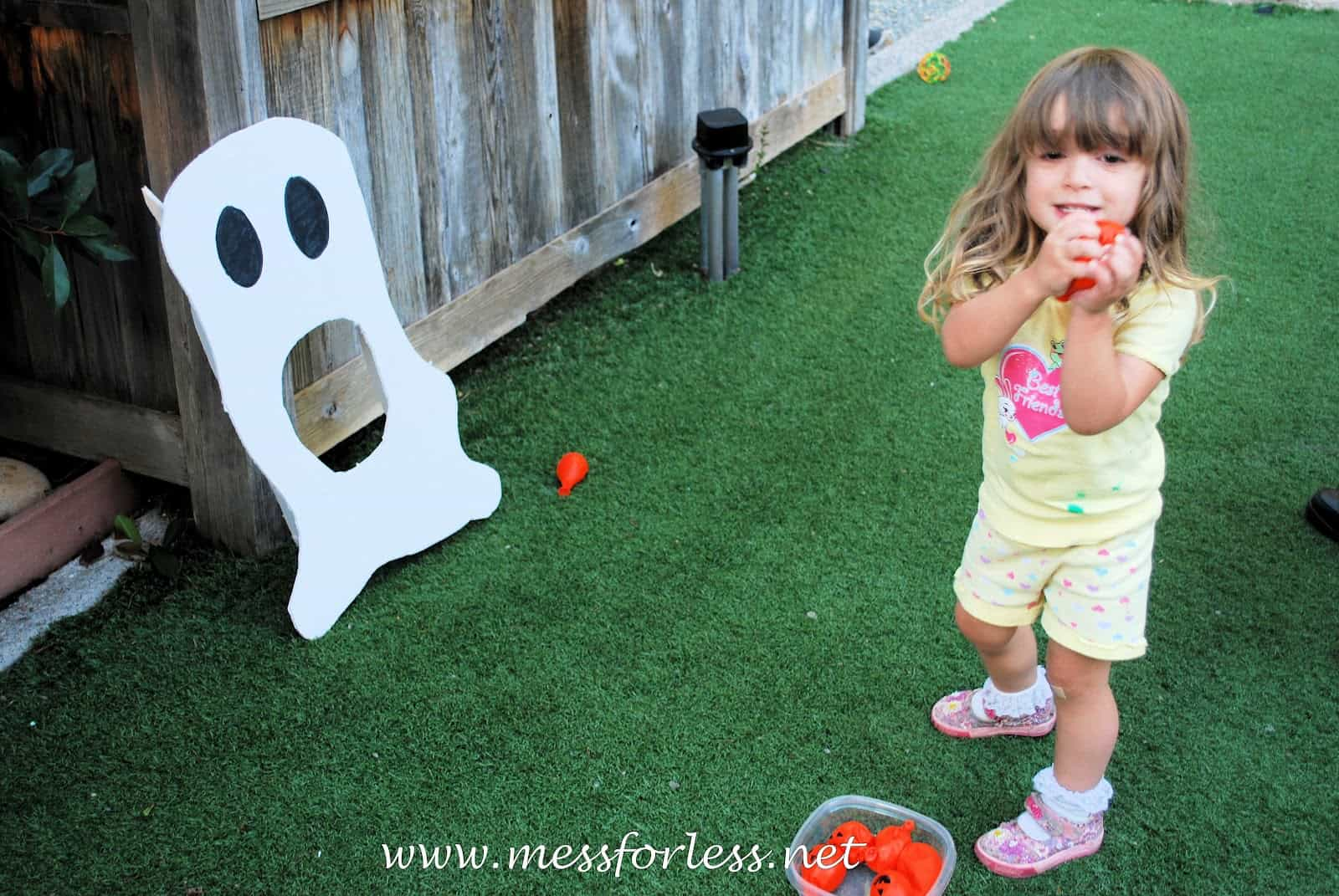 Halloween Game Ghost Toss Mess For Less