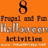 8 Frugal and Fun Halloween Activities