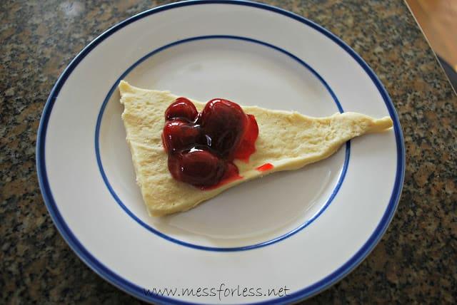 Strawberry Crescents Recipe
