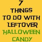 7 Things To Do With Leftover Halloween Candy