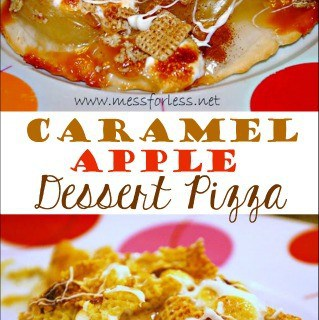 Food Fun Friday: The Ultimate Caramel Apple Dessert Pizza