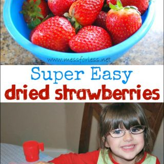 Food Fun Friday – Easy Dried Strawberries