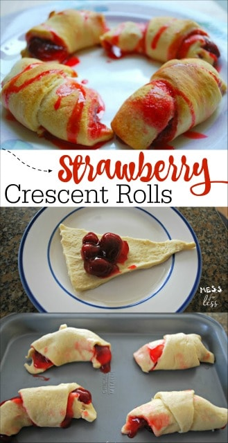 Looking for a quick dessert recipe? We love making this Strawberry Crescents Recipe. It is a hit with kids and adults alike.