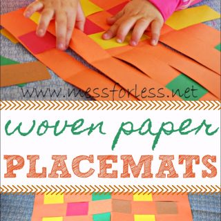 Woven Paper Placemats