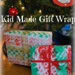 Kid Made Gift Wrap