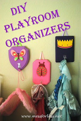 DIY Playroom Organizers, Home Organization