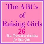 The ABCs of Raising Girls – Day 5 Letters U-Z