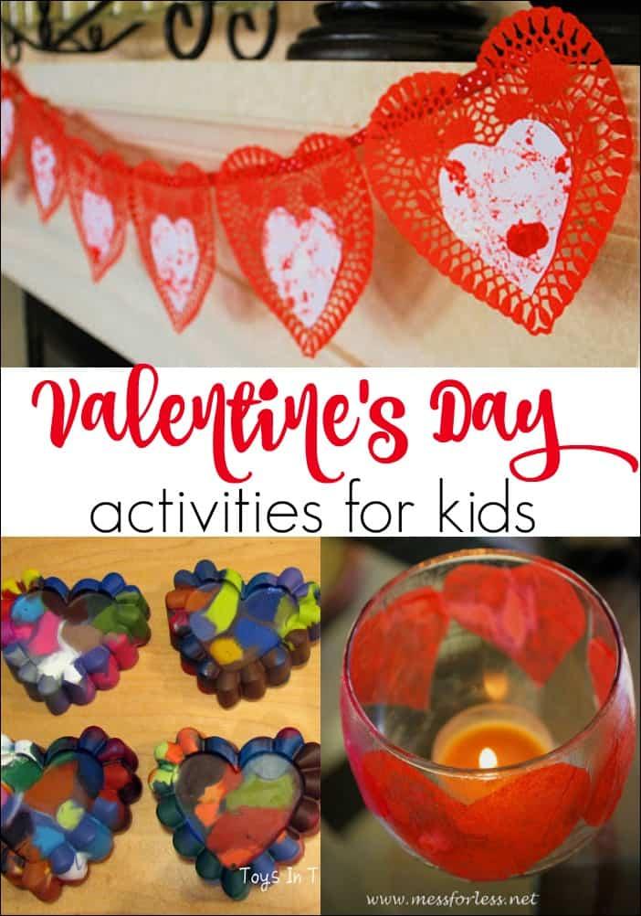 8 Valentine's Day Activities for Kids -  Fun ways to get kids ready for Valentine's Day!