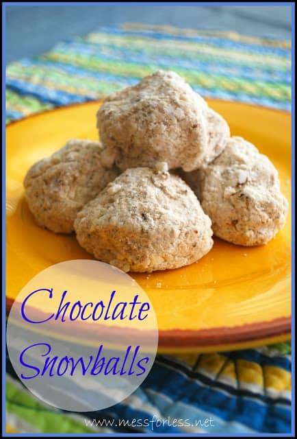 Chocolate Snowballs, #recipe, #chocolate