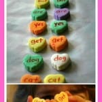 Conversation Hearts Word Matching Game