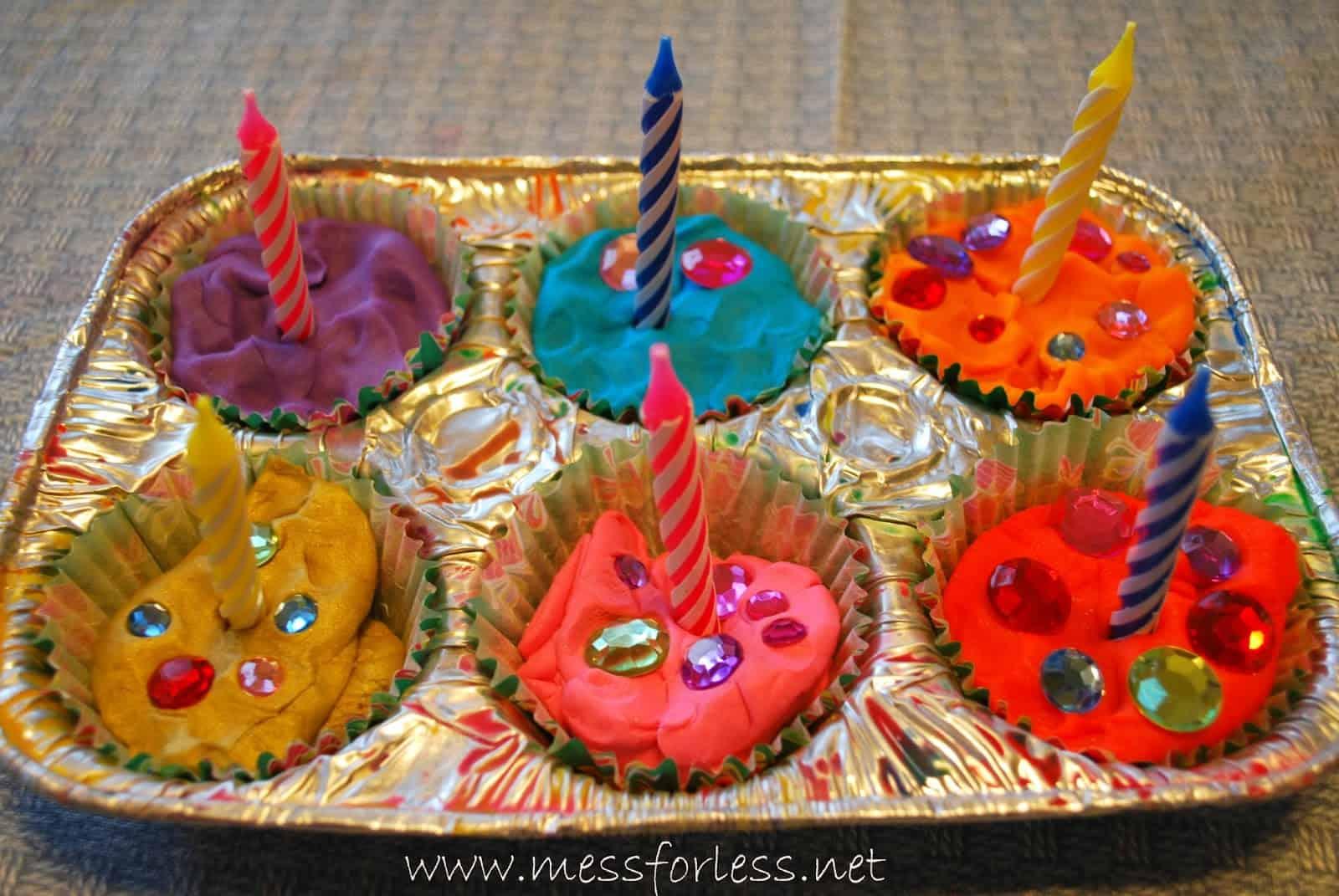 Fabulous Playdough Games Birthday Party Playdough Mess For Less Personalised Birthday Cards Veneteletsinfo