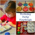 Playdough Games: Birthday Party Playdough