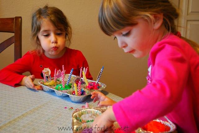 Birthday Part Cupakes