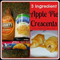 Apple Crescents, Crescent Roll Recipe, Apple Pie Crescents