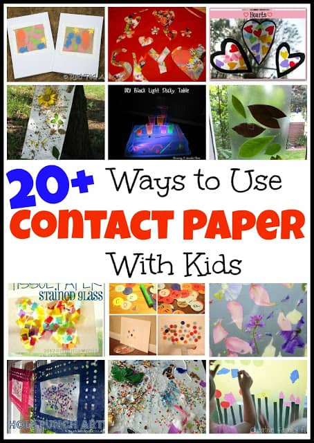 Contact Paper Art Tissue Paper Sticky Window Mess For Less