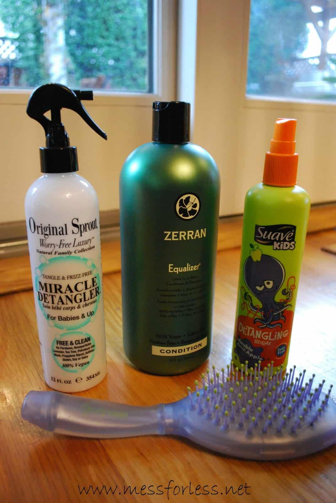 Get Rid of Hair Tangles Plus a Recipe