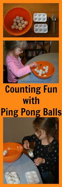 counting fun with ping pong balls