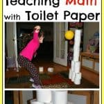 Fun Math Games: Toilet Paper Knock Down