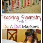Teaching Symmetry Art Activity