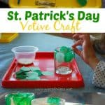 Make a St. Patrick's Day Votive