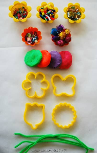 Spring Playdough Games