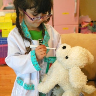 Pretend Play Vet's Office with Free Printable