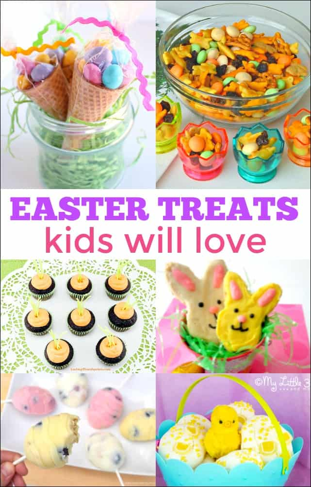 Easter Treats for Kids - Fun ideas for tasty treats for an Easter basket or a party.