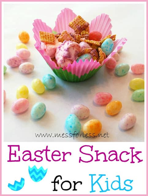 Easter Snack for Kids - This takes just a few minutes to prepare and kids will love it.