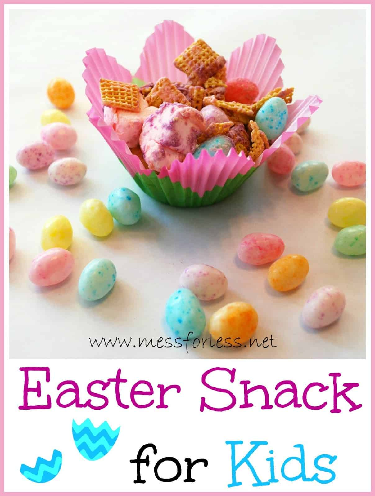 easter snack for kids - food fun friday - mess for less