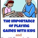 The Importance of Games and Our 10 Favorite Preschool Games