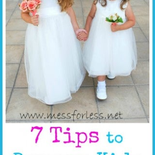 7 Tips for Having Your Kids in a Wedding