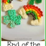 St. Patrick's Day End of the Rainbow Cookies