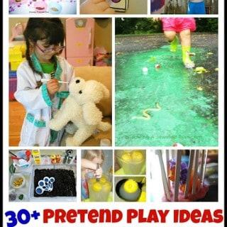 30+ Pretend Play Ideas