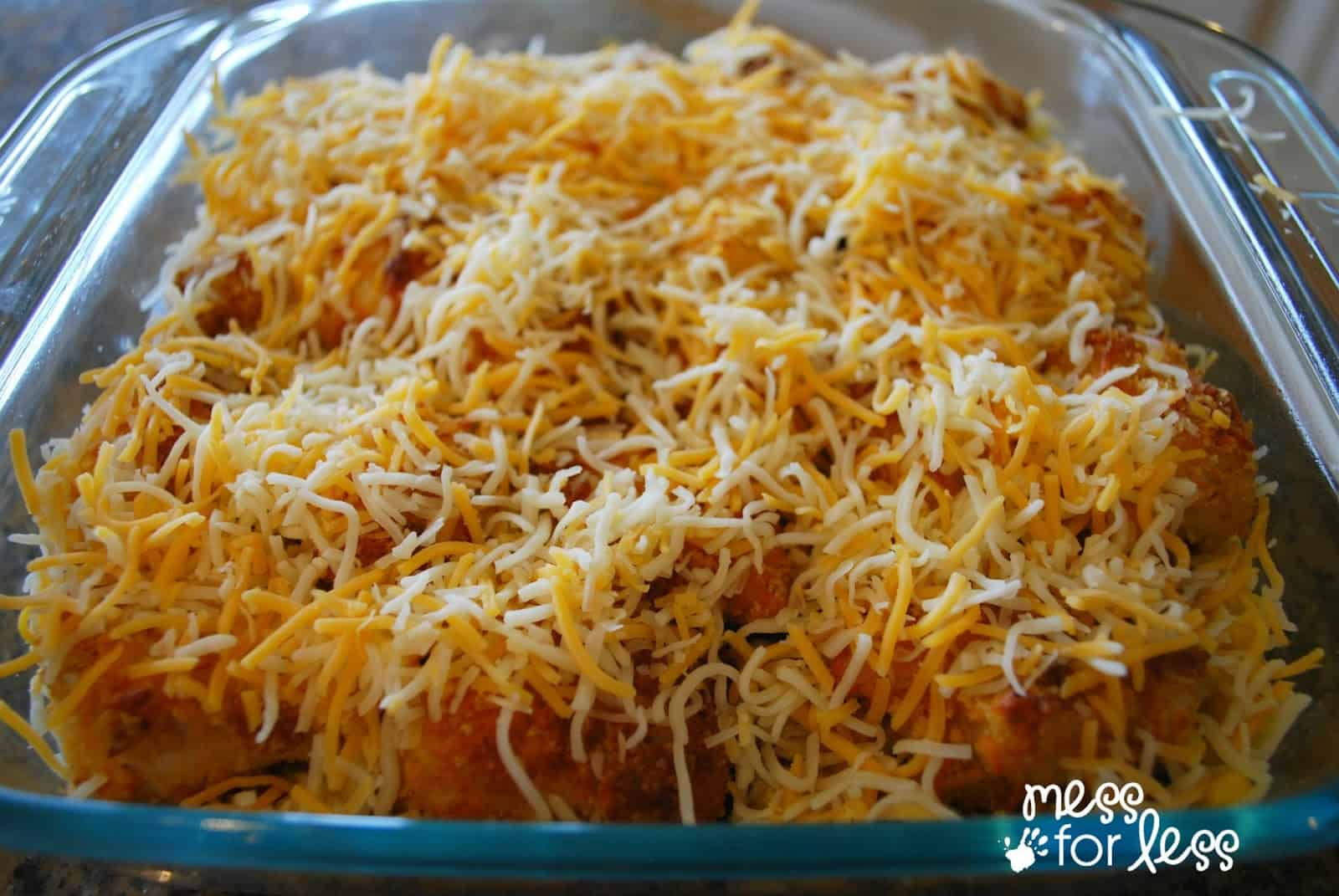 Southwestern Chicken Casserole - Mess for Less