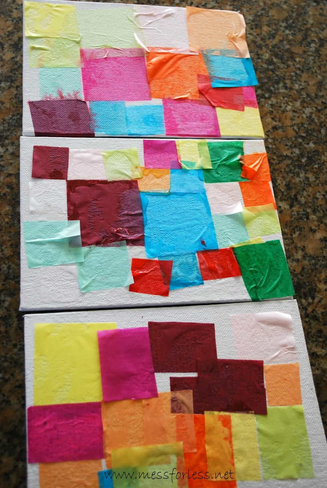 tissue paper squares Tissue paper flowers activities for mother's day - these flowers are made from folded tissue paper (crepe paper) you can make an entire bouquet of them for a great gift or decoration you can make an entire bouquet of them for a great gift or decoration.