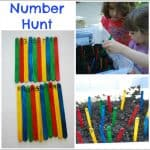 Learn Through Movement – Number Hunt