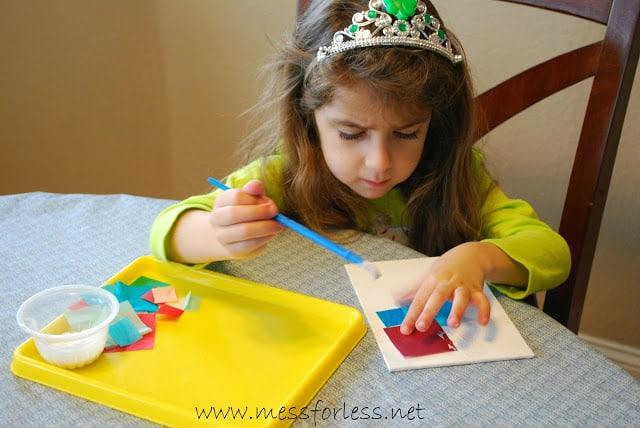 Kids art canvas