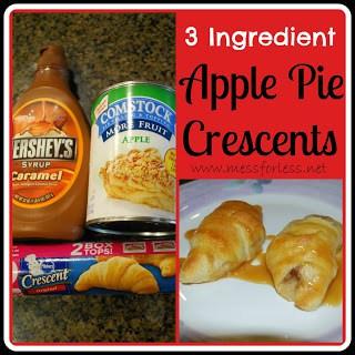 Apple Crescents, Crescent Roll Recipe, Apple Pie Crescents