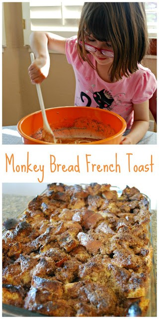 Monkey Bread French Toast Recipe - This might be the best breakfast dish I've ever had! That good!
