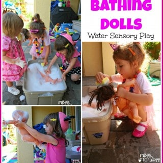 Bathing Dolls – Water Sensory Play