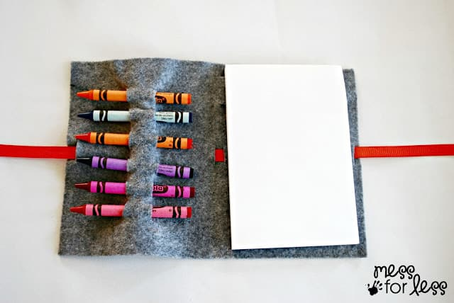 Make a kids art kit