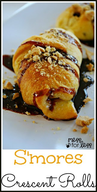 S'mores Crescents - Combining crescent rolls with s'mores? Yeah, that works.