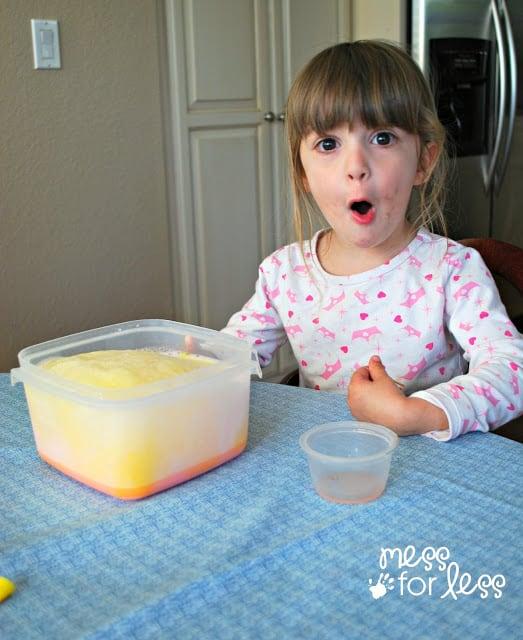 Exploding Milk Experiment