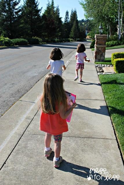 I Spy walk for kids