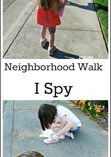 Learn Through Movement: Reading – I Spy Neighborhood Walk