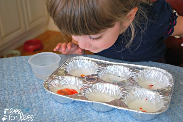 kids experiments with baking soda