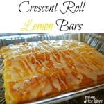 Lemon Bar Crescent Recipe – Food Fun Friday
