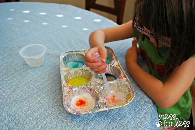 experiments with baking soda and vinegar
