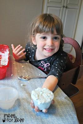 Making soap dough