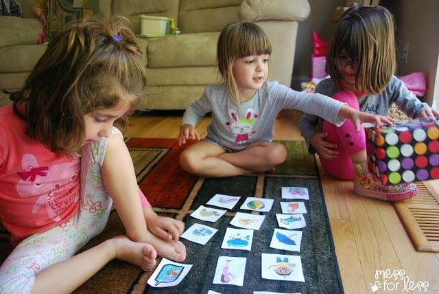 Kindergarten Readiness Game